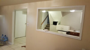 basement for rent 1 bedroom 1 hall in milton laurier ave