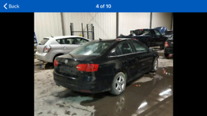 2012 Volkswagen Jetta TDI Sedan For Parts!