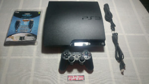 Mint PS3 Slim 320GB Console (cleaned)