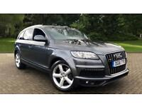 2011 Audi Q7 3.0 TDI Quattro S Line Auto Automatic Diesel Estate