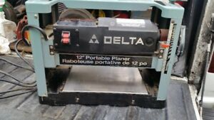 DELTA 12 INCH THICKNESS PLAINER GOOD CONDITION