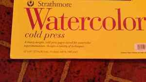 Watercolour and sketch books