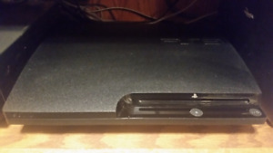 Playstation 3 slim, 2 controllers, 22 games, ONLY $300!!!