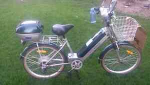 Hybrid Pedal/Battery operated motor Bicycle