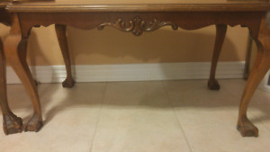 Pair of Victorian Claw Foot Coffee Tables