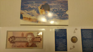 RCM $2 Coin and Bank Note Set