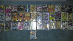 Pokemon cards lot of 50 with ex or gx