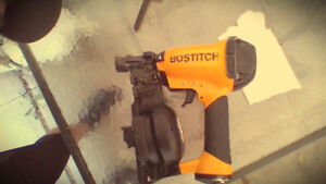 one month old bostitch roofing nailer mint condition