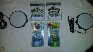 Ps3 Skylanders, Game, Portal and Unopened Character *X2