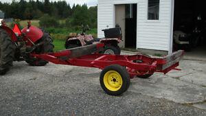 Remorque de tracteur pour transport de billots Lac-Saint-Jean Saguenay-Lac-Saint-Jean image 2