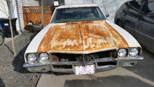 1972 Buick skylark  $2000 obo or trade for 2500 or 3500 truck