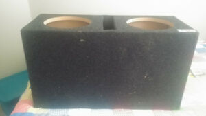 """Dual 10"""" Subwoofer Vented Box"""