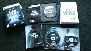 Alan Wake *Limited Collectors Edition XBox *Mint Condition