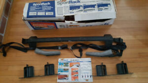 BIC SportRack Roof Rack for Ski, Board, Kayak, Canoe, etc