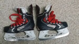 BAUER X70 Jr Size 1.5 Skates, NEW STEP STEEL Blades