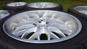 Hp design 19 and 18 NSX set of 7 wheels 5x114.3