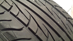 ( One tire  ) 205 55 R16 Uniroyal Tiger Paw AS65 90%