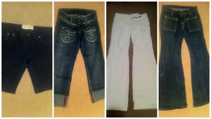 Four Pairs of Ladies Shorts and Jeans- Size XS-Small