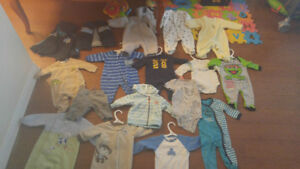 Assorted Baby Clothes w/ sets