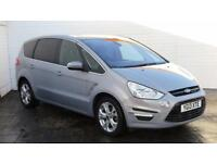 2013 Ford S-Max 2013 13 Ford S Max 2.0 TDCI Titanium 7 Seater Diesel silver Manu