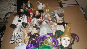 Porcelaine Jester collection