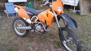 For sale 2005 450 KTM. EXC reduced to$ 3000obo