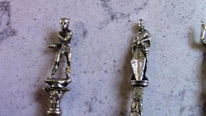 4 Collector Spoons with Figure / Character at top Kitchener / Waterloo Kitchener Area image 2