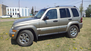 05 Liberty - auto - 4X4  - LEATHER - SUNROOF - ONLY 156,000KMS