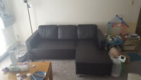 Awesome Leather Sofa! Great Condition, Great Price!
