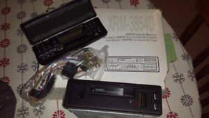 Vintage Cassette Car Stereo Brand New Condition