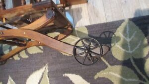 Antique High Chair/Push Cart Kingston Kingston Area image 4
