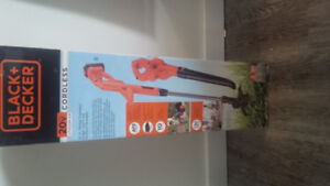 brand new in the box - string trimmer and leaf blower/surface sw