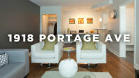 1945 Portage Bachelor Unit for Rent!
