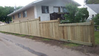 Wood /Chain link fence installion and repair