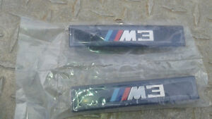 BRAND NEW paid of BMW M3 badges