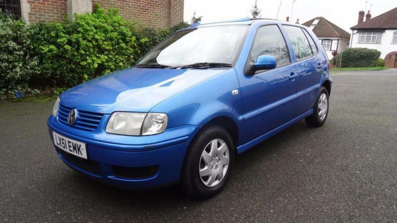 volkswagen polo match 12 months mot 2001 manual 65000 petrol blue petrol in thornton heath. Black Bedroom Furniture Sets. Home Design Ideas