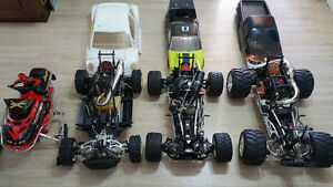 4-- RC'S 1/5 BIG BOY TOYS!!!