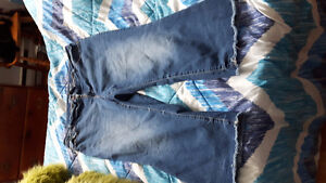 Jeans taille forte 22