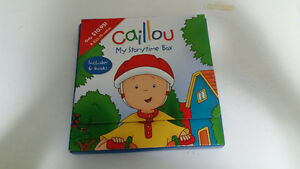 Set of 6 Caillou books