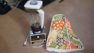 Osterizer Imperial VIII blender with cover