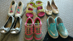 Girls shoes and crocs