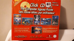 CLICK PUZZLE CD, PUZZLE GAME FOR YOUR COMPUTER - NEW