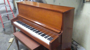 refinished piano