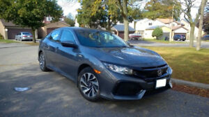 2017 Honda Civic Hatchback (no accidents, in manual)