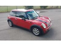 2003 Mini Mini 1.6 One, Long Mot 1 Year.