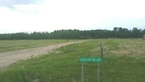 13.07 Vacant Acres with Full Services, Grovedale, AB
