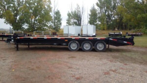 Brand New 20' plus 5' Deck Over Trailer