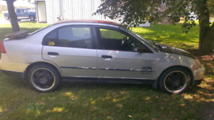 Parting out 01 civic