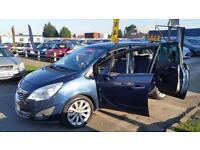 2012 Vauxhall Meriva 1.7 CDTi 16v SE 5dr (a/c)