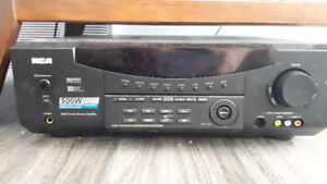 5.1 home theater avr and speakers